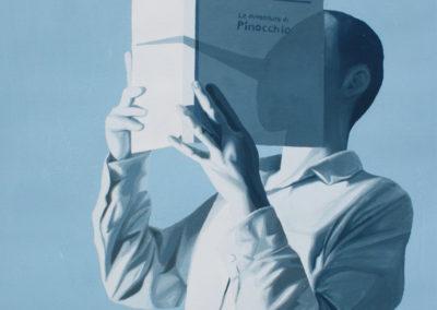 Davide Corona, Le avventure di Pinocchio_2010_tempera su carta_40x35 cm