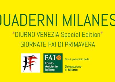 Quaderni Milanesi – Giornate FAI di Primavera