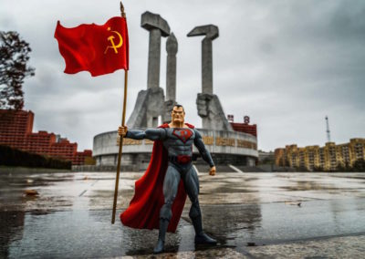 A Red Superhero in North  Korea | Enrico Pescantini