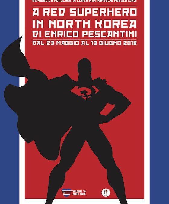 A Red Superhero in North Korea