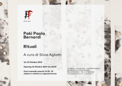 RITUALI | Paki Paola Bernardi